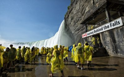 Journey Behind Niagara Falls: Seeing The Falls From A Different Perspective